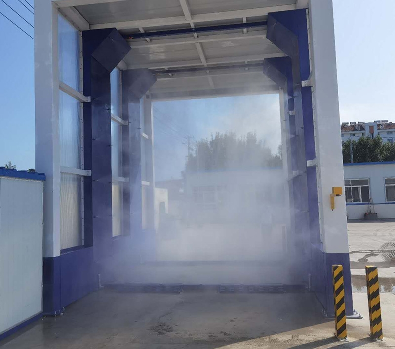智能车辆洗消通道