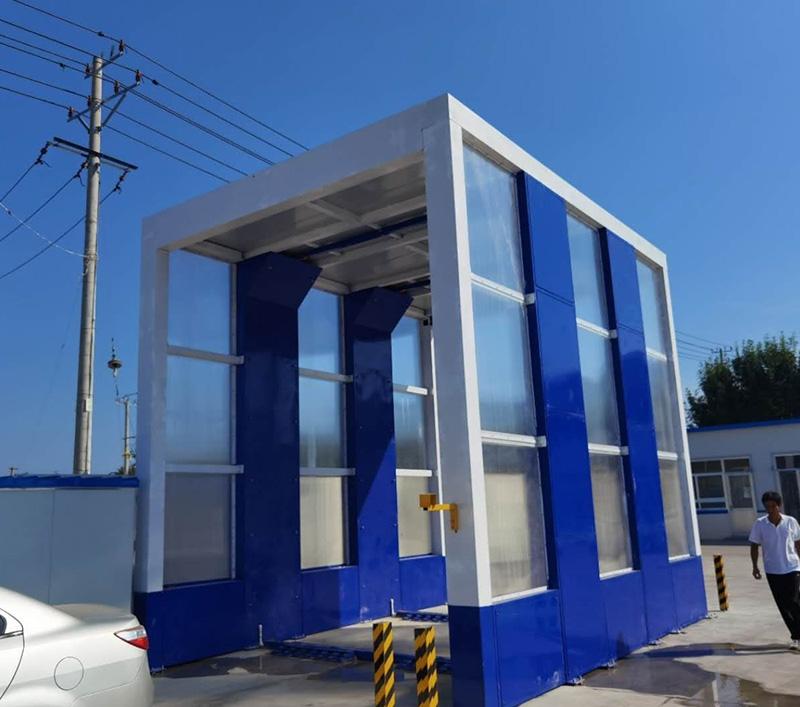 龙门式全自动洗车机