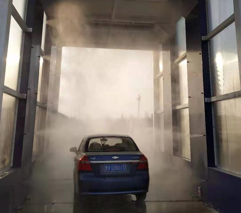 车辆消毒通道